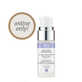Ren Clean Skincare Instant Brightening Beauty Shot Eye Lift