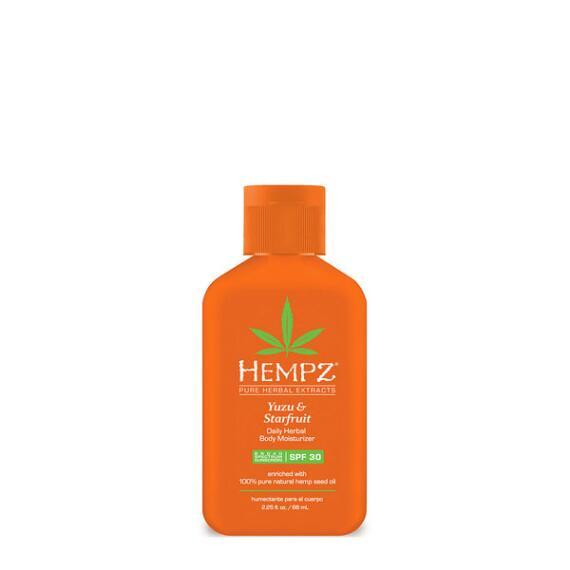 Hempz Yuzu and Starfruit Herbal Moisturizer SPF 30 Travel Size
