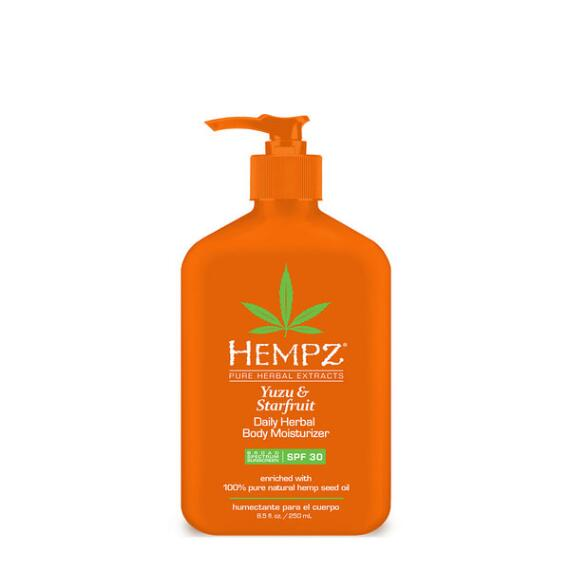 Hempz Yuzu and Starfruit Herbal Moisturizer SPF 30