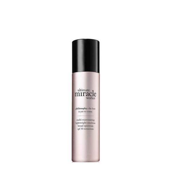 philosophy ultimate miracle worker multi-rejuvenating lightweight emulsion spf 30