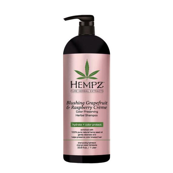 Hempz Blushing Grapefruit & Raspberry Creme Color Preserving Herbal Shampoo