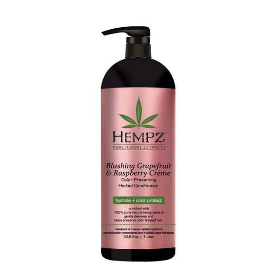 Hempz Blushing Grapefruit and Raspberry Creme Color Preserving Herbal Conditioner