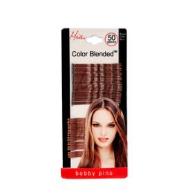 Mia Beauty Color Blended Bobby Pins - Set of 50