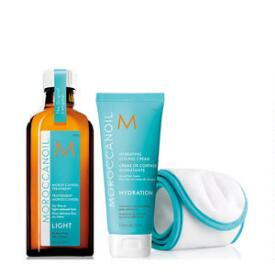 Moroccanoil Home & Away Kit Light