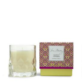 Vera Bradley Appleberry Champagne Scented Candle in Glass