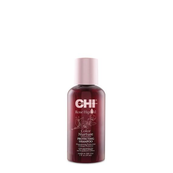 Chi Rose Hip Oil Color Nurture Protecting Shampoo Travel Size