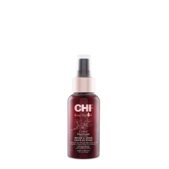 Chi Rose Hip Oil Color Nurture Repair and Shine Leave-In Tonic Travel Size