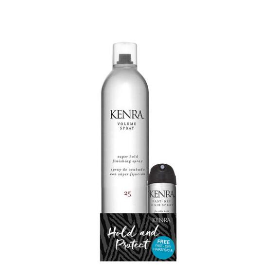 Kenra Volume Spray 25 and Mini Fast Dry Hair Spray 8 Duo