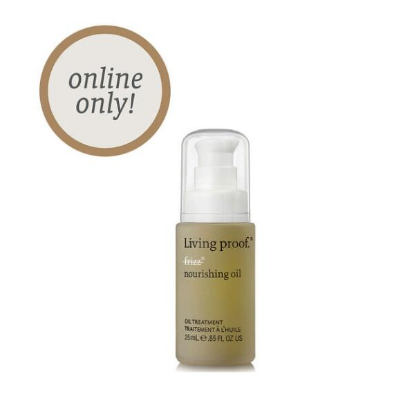Living Proof No Frizz Nourishing Oil Travel Size