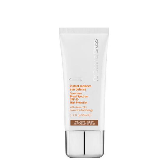 Dr. Dennis Gross Skincare Instant Radiance Sun Defense Broad Spectrum SPF 40 Medium-Deep