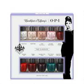 OPI Breakfast at Tiffany's Classic 10-Piece Mini Collection