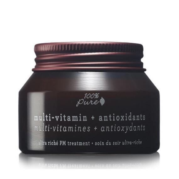 100% Pure Multi-Vitamin + Antioxidants Ultra Riche PM Treatment