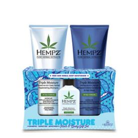 Hempz Triple Moisture Holiday Haircare Set