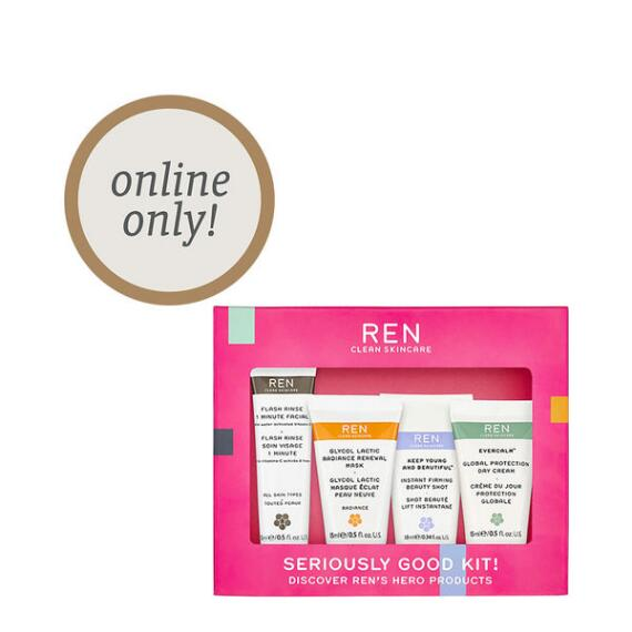 REN Clean Skincare Seriously Good Kit