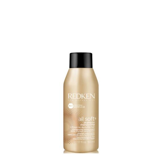 Redken All Soft Softening Shampoo Travel Size