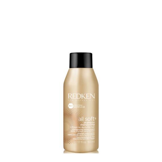 Redken All Soft Softening Shampoo Travel Size
