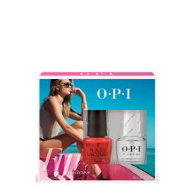 OPI Fiji Duo Pack - Living On the Bula-Vard & Plumping Top Coat