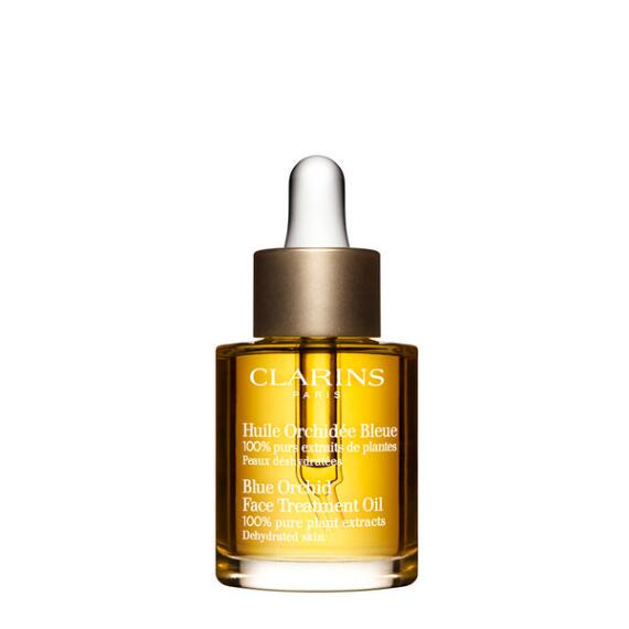 Clarins Blue Orchid Face Treatment Oil for Dehydrated Skin