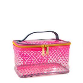 Modella Pink Fade Train Case