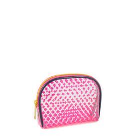 Modella Pink Fade Round Top Clutch