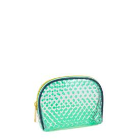 Modella Teal Fade Round Top Clutch
