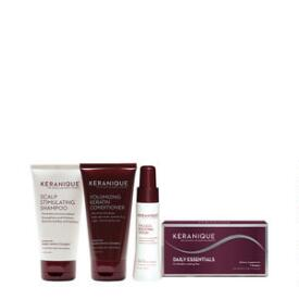 Keranique Nourishing and Volumizing 4-Piece Kit