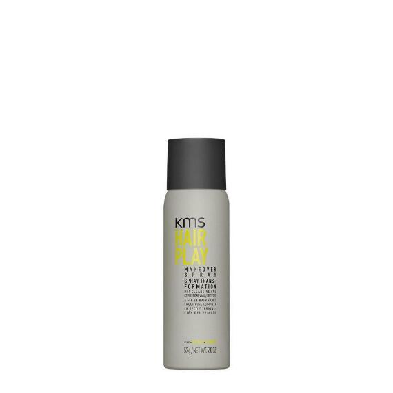 KMS Hair Play Dry Cleansing Makeover Spray Travel Size