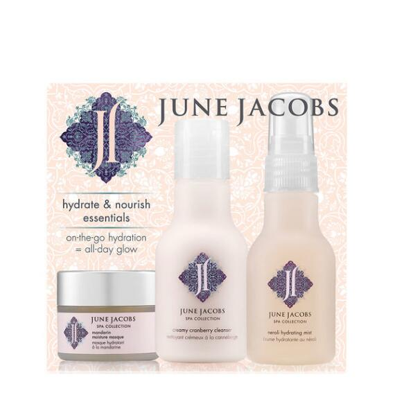 June Jacobs Hydrate and Nourish Essentials Kit