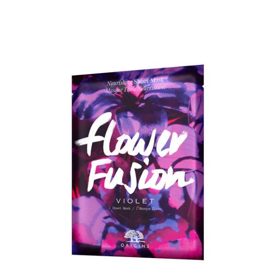 Origins Flower Fusion Violet Nourishing Sheet Mask