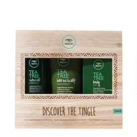 Paul Mitchell Discover The Tingle 3-Piece Kit, Tea Tree Shampoo & Conditioner Kit