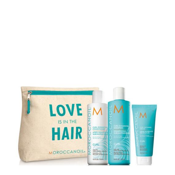 Moroccanoil Love is in the Hair Curl 4-Piece Set
