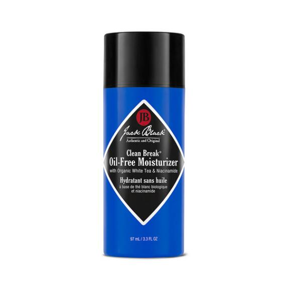 Jack Black Clean Break Oil-Free Moisturizer with Organic White Tea and Niacinamide