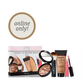 Laura Geller 3 Steps to Bronze Beauty 4-Piece Kit