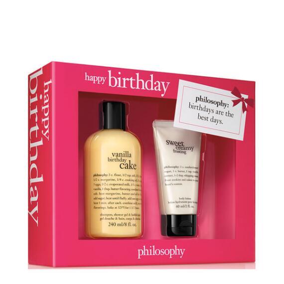 philosophy happy birthday 2-piece set