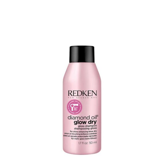 Redken Diamond Oil Glow Dry Gloss Shampoo Travel Size