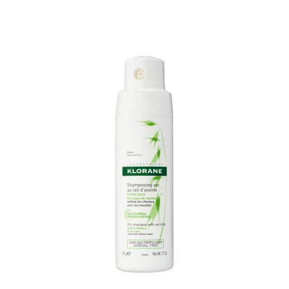 Klorane Dry Shampoo with Oat Milk Non-Aerosol for All Hair Types