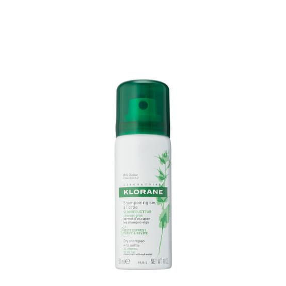 Klorane Dry Shampoo with Nettle for Oily Hair Travel Size