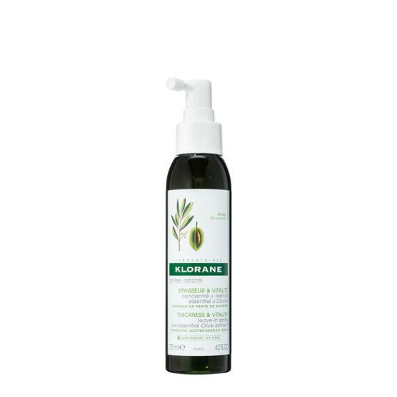 Klorane Leave-In Concentrate with Essential Olive Extract for Aging Hair