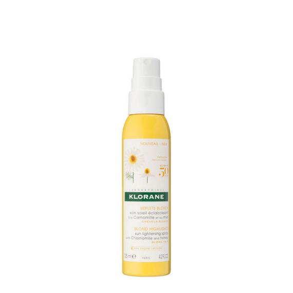 Klorane Sun Lightening Spray with Chamomile and Honey for Blond Hair
