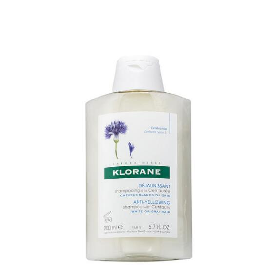 Klorane Shampoo with Centaury for Blonde White and Gray Hair