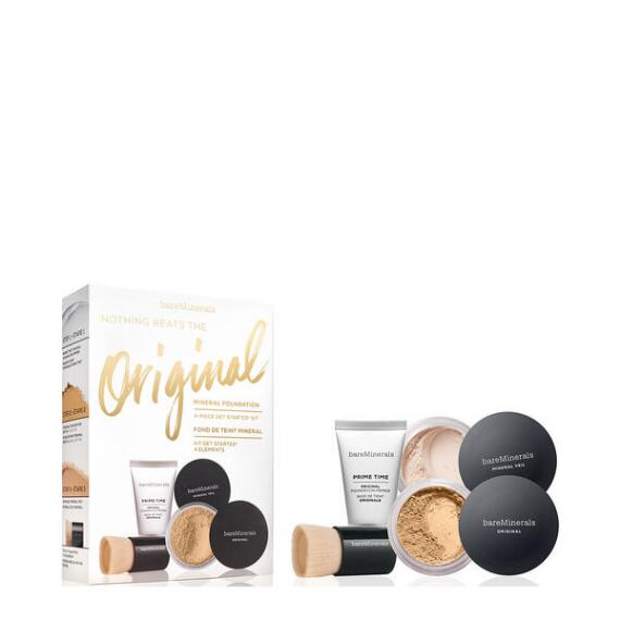 bareMinerals Nothing Beats the Original Mineral Foundation 4-Piece Get Started Kit