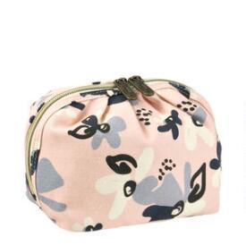 Modella Primrose Hill Dahlia Print Ruched Top Bag