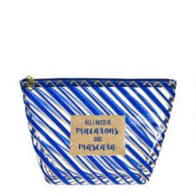 Modella Navy Candy Large Clutch