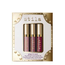 Stila Play it Cool Stay All Day Liquid Lipstick 3-Piece Set