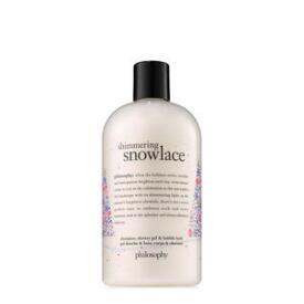 philosophy shimmering snowlace 3-in-1 shampoo, shower gel and bubble bath