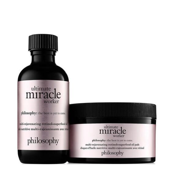 philosophy ultimate miracle worker anti-aging retinoid pads
