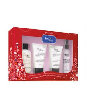 philosophy fresh cream 4-piece collection