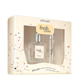 philosophy fresh cream eau de toilette 2-piece set ($58 Value)