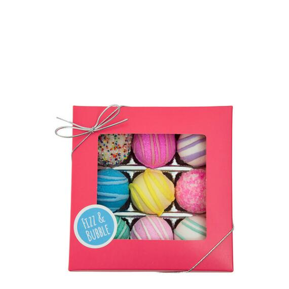Fizz and Bubble Bath Truffles 9-Piece Set