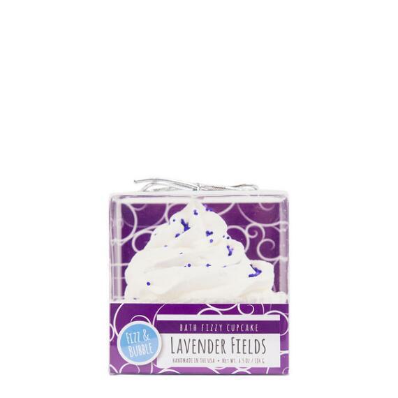 Fizz and Bubble Lavender Fields Bubble Bath Cupcake